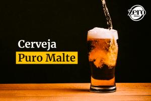 Entenda o que é cerveja puro malte | Bar Zero Grau