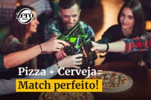 Pizza e cerveja